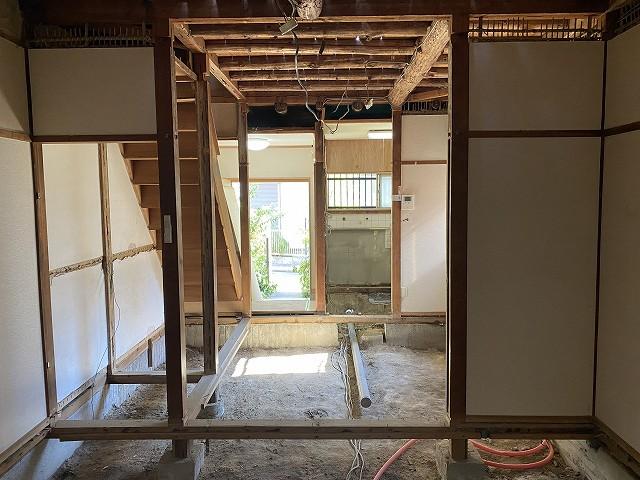 戸建てリノベーション京都サイン解体4.jpg