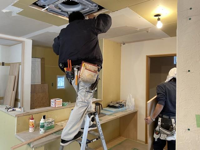 京都市右京区の戸建てリノベーション工事 Sign