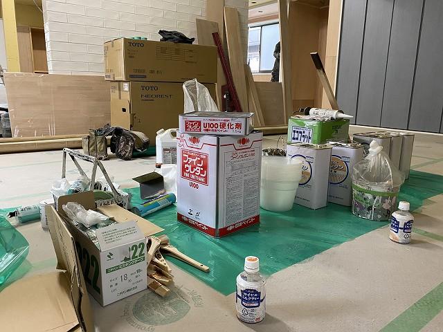 京都のリノベーション専門の工務店サイン 塗装屋さん