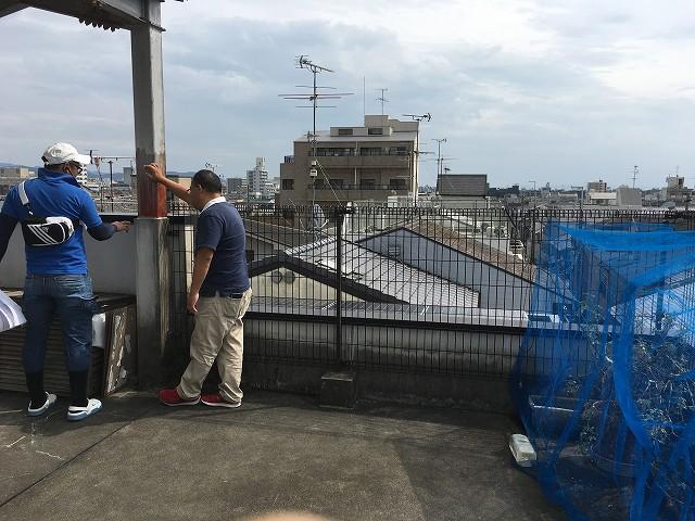 京都 リノベ 防水工事