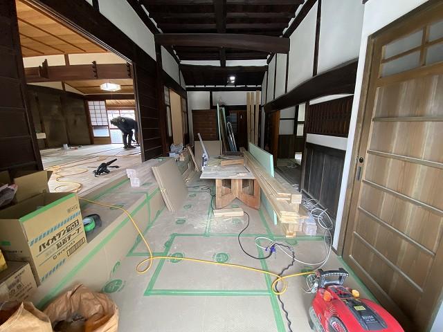 京都で人気のリフォーム,リノベーション専門の工務店の株式会社サインSignの古民家リノベーション