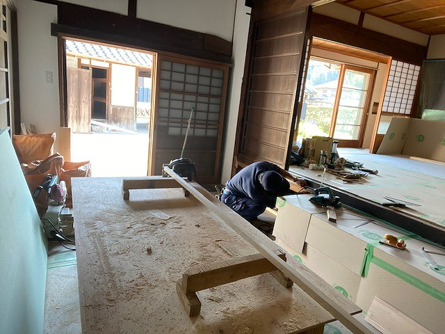 京都で人気の工務店の株式会社サインの古民家リフォームです