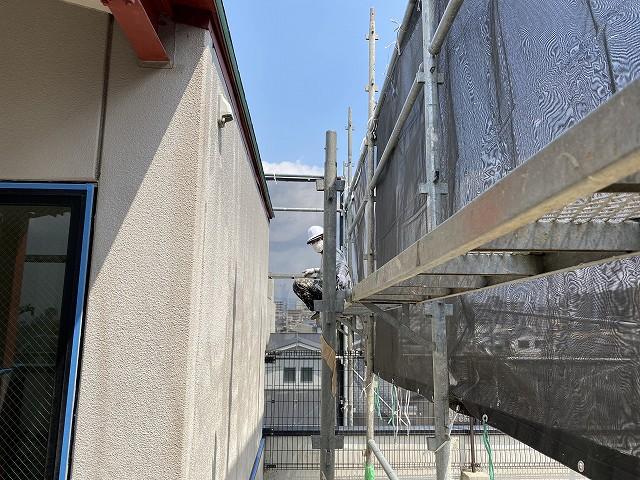 京都で外壁リフォーム工事ななサインへ2.jpg